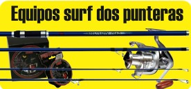 Surfcasting dos punteras LC
